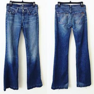 7FAM Dojo Wide Leg Jeans